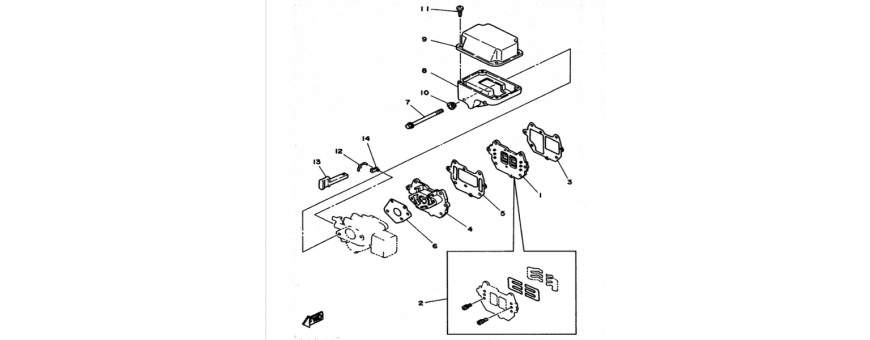 Exhaust 6C-6D-8C