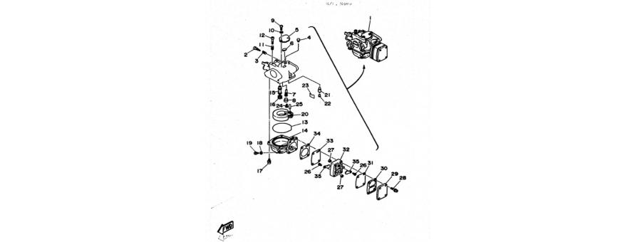 Carburetor 6C-6D-8C