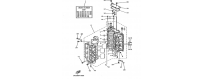 The cylinder and the crankcase 1 150F-175D-200F