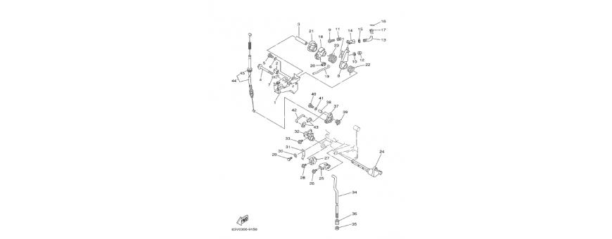 Motor controls a 9.9 F-15F