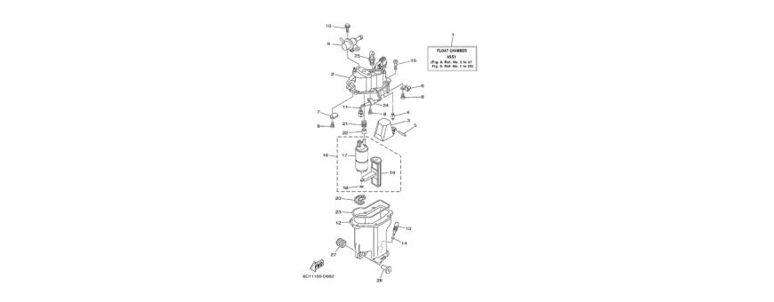 Pompa iniezione F40D-F50F-F60C
