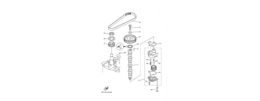 Oil pump F40D-F50F-F60C
