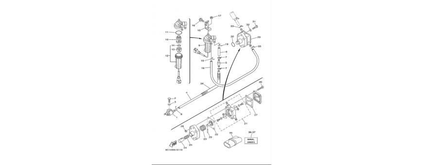 Fuel pump F40D-F50F-F60C