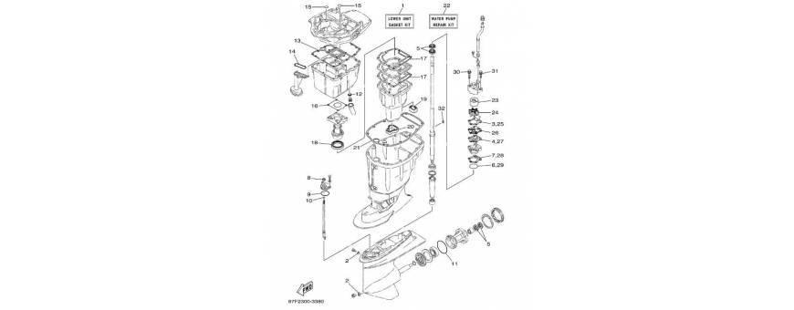 Maintenance foot F80A-F100A