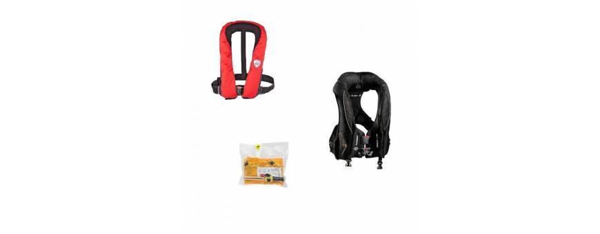 Life jackets life-rafts, life Vest eutogonfiabile
