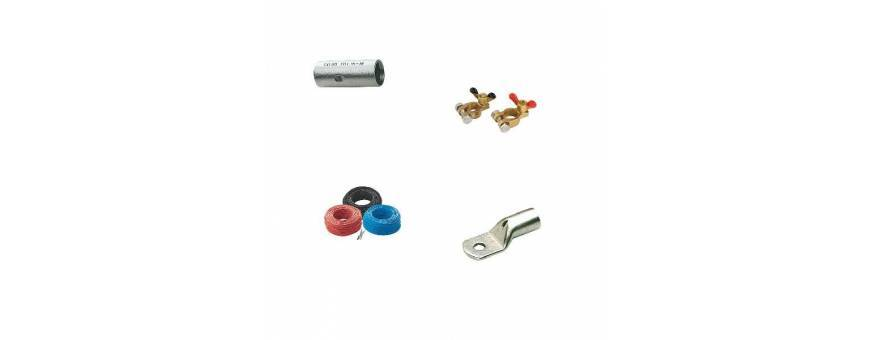 Clamps, cable, battery and boat battery terminals