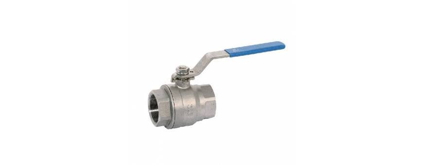 Ball valve in stainless steel for boat