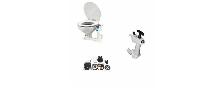 Wc nautical, marine toilet, toilet for boat and spare parts