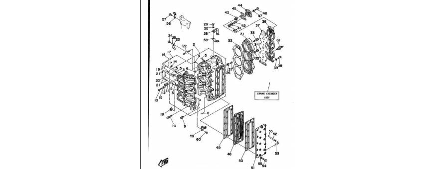 The engine block 80A-90A