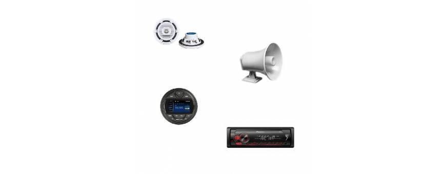 Radio for boat-in stereo speakers marine