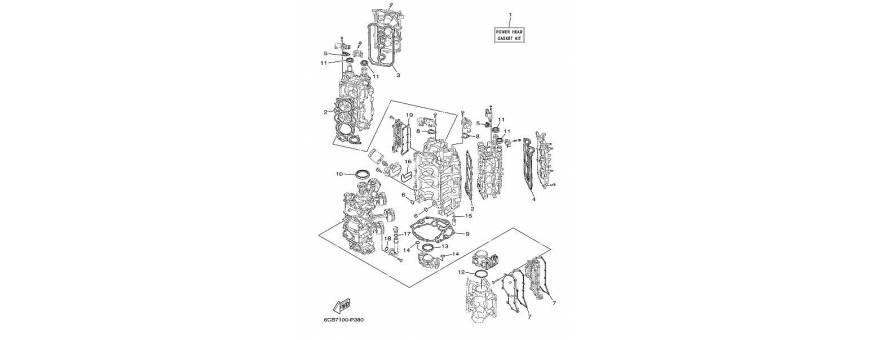 Maintenance the engine block F250D