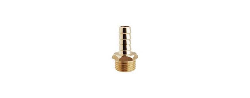 Hose connector brass