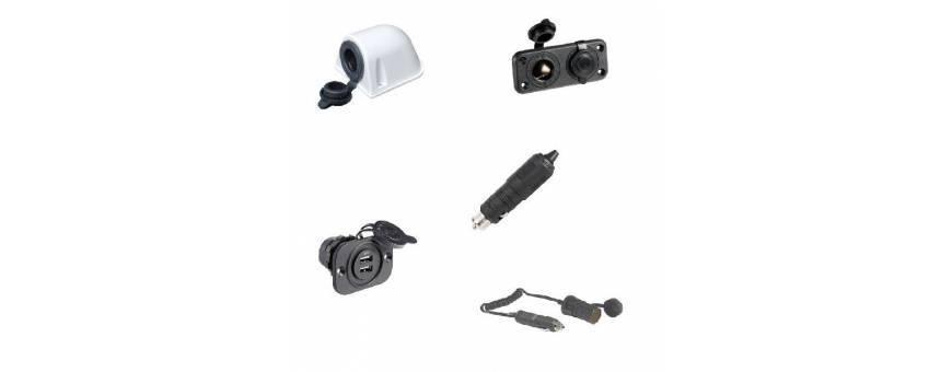 Plugs and sockets 12V cigarette lighter