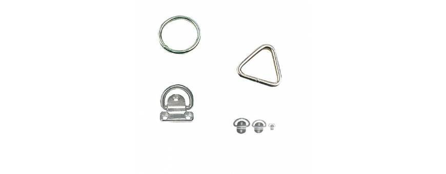 Stainless steel rings and foldable rings