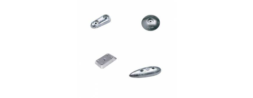 Adria Marine | Anodes or zincs for rudders and flaps